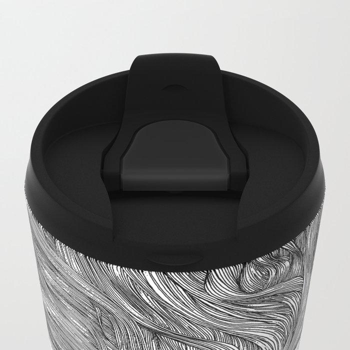 asc 629 - Le geste furtif (Stealth rapture) Metal Travel Mug