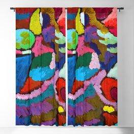 Wassily Kandinsky Mahogany Improvisation Blackout Curtain