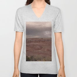 Desert Rain Clouds Unisex V-Neck
