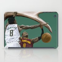 larry iPad Cases featuring Larry Sanders by Jen Hynds