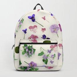 Delicate Violets Backpack