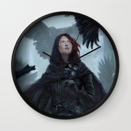 Nightingale Wall Clock