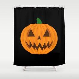Jack O Lantern Shower Curtain