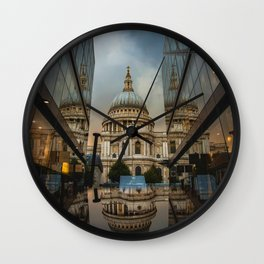 Landmark City (Color) Wall Clock