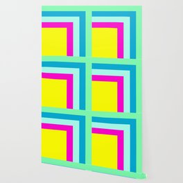 90's colour palette pattern design Wallpaper