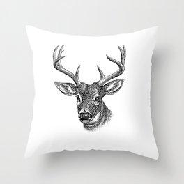 A deer 5 Throw Pillow