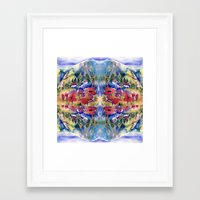 africa Framed Art Prints featuring Africa by CrismanArt