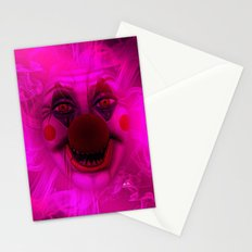 Cotton Candy Clown Stationery Cards
