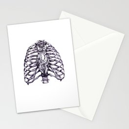 The owl is wise and proper Stationery Cards