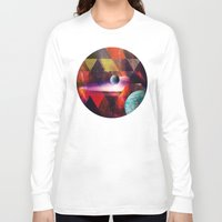 planet Long Sleeve T-shirts featuring Planet by Tony Vazquez