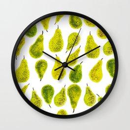 Poires Wall Clock