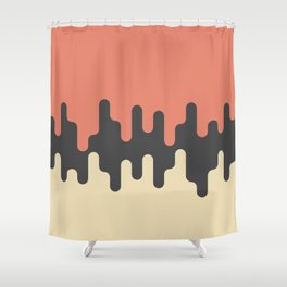 Slime Time Live Shower Curtain