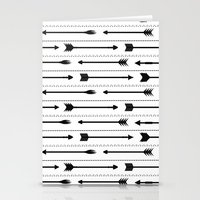 arrows Stationery Cards featuring Arrows by Hipster