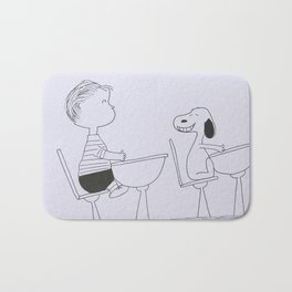 Charlie Brown and Snoopy Bath Mat
