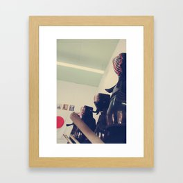 We March Framed Art Print