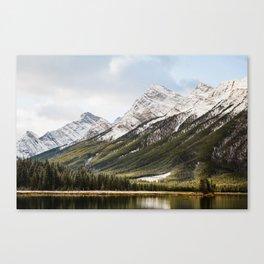 Mountains of Spray Lakes Canvas Print