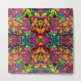 Fractal Floral Abstract G285 Metal Print