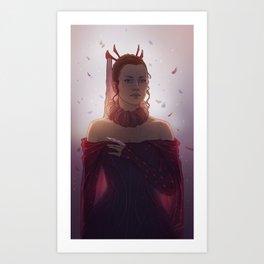 Maiden of Light Art Print