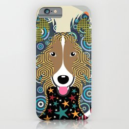Rough Collie iPhone Case
