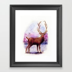 .Rudolph Framed Art Print