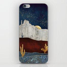 Moonlit Desert iPhone Skin