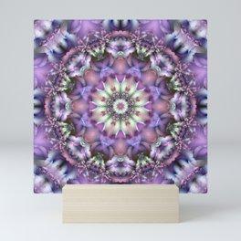 Lilac Mandala Mini Art Print