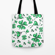 Lucky on my side Tote Bag