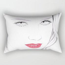 Amber Heard Rectangular Pillow
