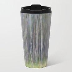 Birch Blurs Metal Travel Mug