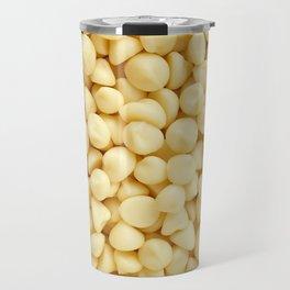 Milky white chocolate chips Travel Mug