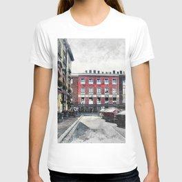 Cracow art 4 Kazimierz #cracow #krakow #city T-shirt