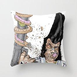 KINGSIZEDONUTS Throw Pillow