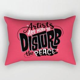Disturb The Peace Rectangular Pillow