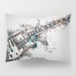 Blue Riff Pillow Sham