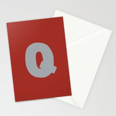 Q is for... Stationery Cards