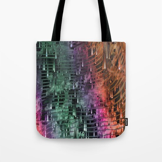 Spatial Factor 101 / Texture 30-10-16 Tote Bag