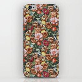 Botanical and Pugs iPhone Skin