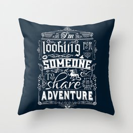 Help wanted Throw Pillow