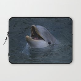 Happy Dolphin Laptop Sleeve