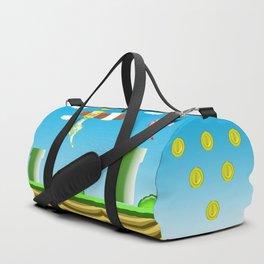 Meowio and Catuigi Duffle Bag