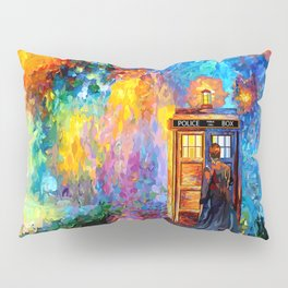 The 10th Doctor Starry The Night Pillow Sham