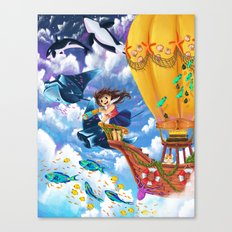 The Sea Wanderer Canvas Print