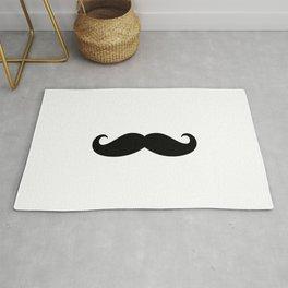 He Moustache Rug