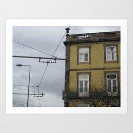 Foz: Wires Art Print