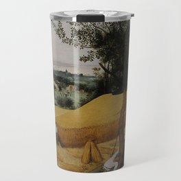 Pieter Bruegel the Elder, The Harvesters Travel Mug