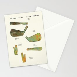 Golf Club Heads - 1989 Stationery Cards