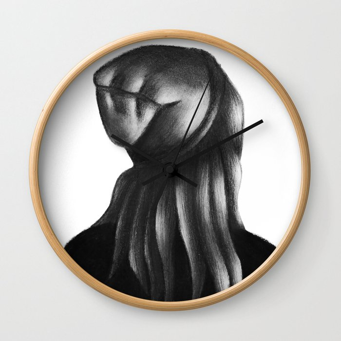 The Beanie Girl Wall Clock