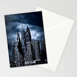 the dark city Stationery Cards
