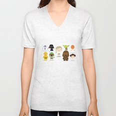 The force Unisex V-Neck
