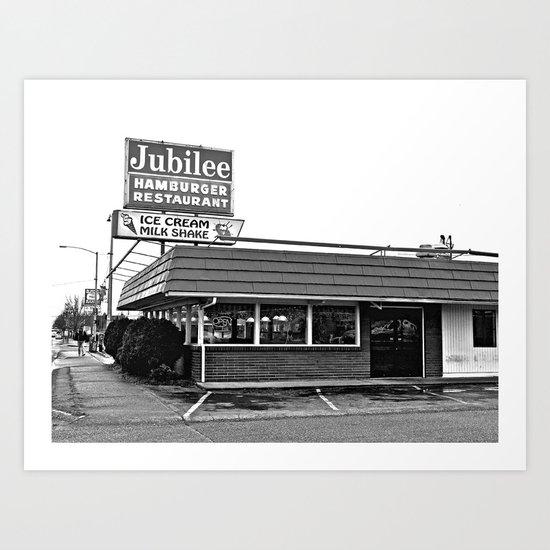 Jubilee Hamburger Restaurant Art Print